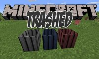Trashed mod for Minecraft logo