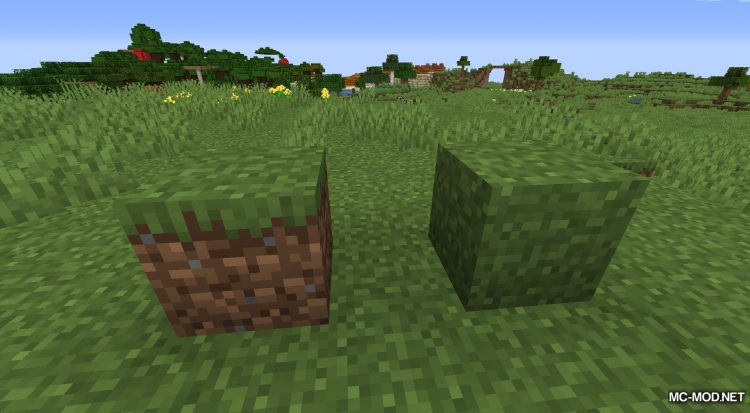 Turf mod for Minecraft (1)
