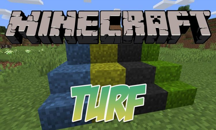 Turf mod for Minecraft logo