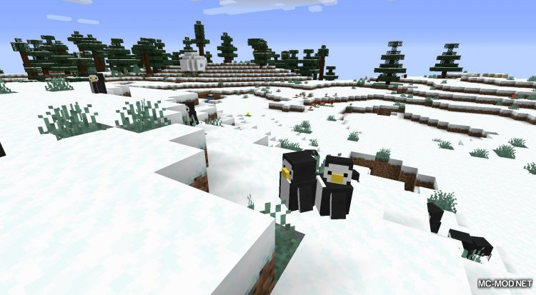 Tux mod for Minecraft (3)