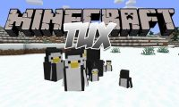 Tux mod for Minecraft logo