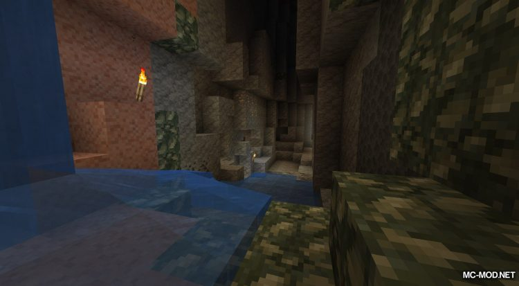 Unearthed mod for Minecraft (12)