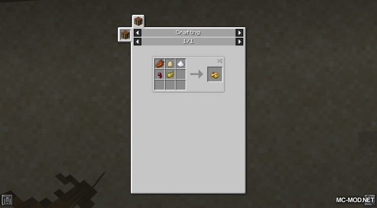 Vanilla Cookbook mod for Minecraft (5)